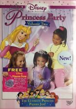Disney Princess Party Volume Two DVD Brand New Factory Sealed