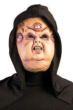 Hooded Evil Eyes Scary  Halloween Adult Mask