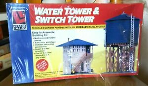 N Scale Life Like Trains Watch Tower & Switch Tower NEW IN BOX