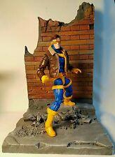 Custom Cyclops marvel legends X-men figure with jacket Jim Lee style
