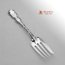 Louis XV Salad Fork Sterling Silver Whiting 1891