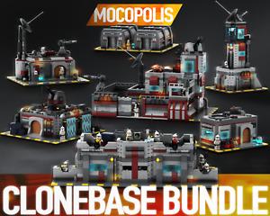 LEGO MOC Star Wars Clone Base Bundle | PDF instructions (NO PARTS)