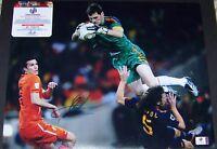 SUPER SALE! Iker Casillas Signed Autographed 11x14 Soccer Photo GA GV GAI COA!