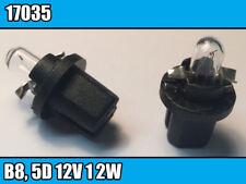 1x base in plastica-Pera Bax B8, 5d 12 V 1 2 W NARVA (17035) Display Lampadina