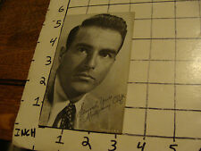 vintage Photocard: MONTGOMERY CLIFT from those card despencers back in the day