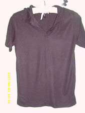 Unbranded Women's Cotton Blend Waist Length Collared Tops & Shirts
