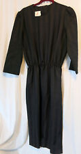 The Jones Girl 14 Strip Black Dress
