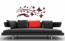 Wall Stickers Vinyl Decal Modern Style Leaves for Living Room ig1356