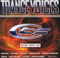 Trance Voices 21 - 2CDs NEU Limelight Cascada Starsn Stripes Cosmic Gate Sylver