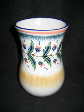 Flower Vase Beautiful Hand Painted Flowers Nice Gift Mexican Ceramic Pottery