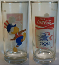 Orig.glass   Olympic Games LOS ANGELES 1984  -  Football SAM  !!    RARE