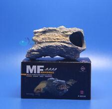 MF CICHLID STONE Ceramic Aquarium Rock Cave decor F923E AK571