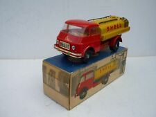 GERMANY DIECAST SKODA TIN/TOY Shell  City TANKER van MS VEB GERMANY BOXED NICE!!
