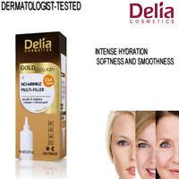 Delia Hyaluronic Acid Gold Collagen Anti Ageing Wrinkle Multi Filler Skin Care