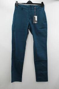 RAPHA Men's Green Cotton Double Weave Slim Fit Cycling Trousers W32 L34 BNWT
