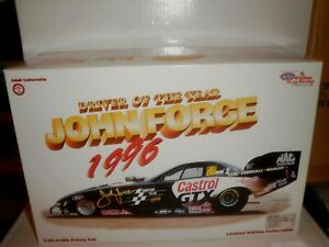 NHRA 1/24 JOHN FORCE RCCA DRIVER OF THE YEAR MUSTANG 1/10,000 SERIAL # 8256