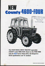 "County ""4600-FOUR"" Tractor Brochure Leaflet"