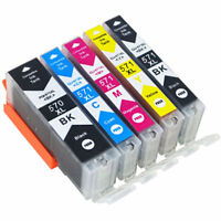 5x Ink Cartridge PGI 570 CLI 571 Compatible For Canon PIXMA MG5750 MG5751 MG5752