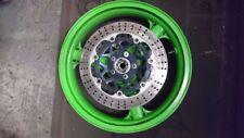 Kawasaki zx6r front wheel and discs