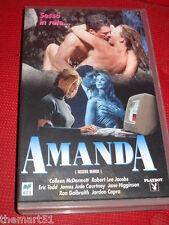 AMANDA  (1996)  VHS Playboy RCS  Robert Kubilos Eric Todd Colleen McDermott