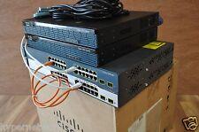 CISCO 2x 1941 IOS 15.4T CCNA CCNP CCIE R&S INE IP EXPERT R&S ADD ON LAB KIT v5.0