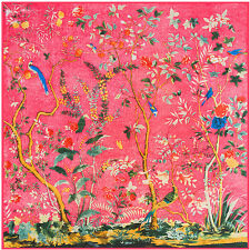 "2017 Hot Sale Women's Vintage Flower Silk Shawl Big Square Scarf 51""*51"""