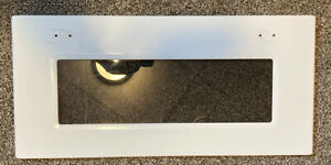 8304031 Kitchenaid microwave door cover with glass