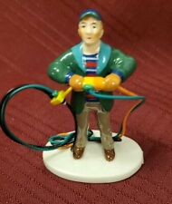 """Dept 56, Snow Village, National Lampoon's """"Fire it up, Dad"""" New"""