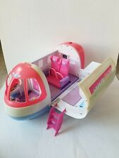 AIRLINER SWEET HOLIDAYS PLANE like BARBIE'S JET GLAM! RARE *BATTERY OPERATED*