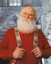 Ed Asner autographed 8x10 color photo Great Pose As Santa From Elf To Dave