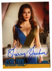 Sherry Jackson as Andrea STAR TREK TOS Season 1 Autograph Card Auto #A26