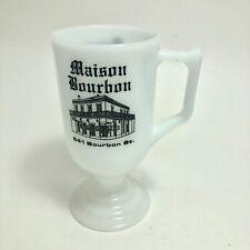 Maison Bourbon New Orleans Jazz Milk Glass Mug