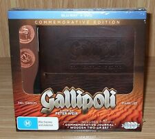 Gallipoli - Commemorative Edition Blu-ray + Dvd 3-Disc Set Brand New & Sealed