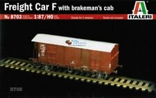 Italeri 8703 Freight Car F with Brakeman's Cab 1/87 Scale # 8703