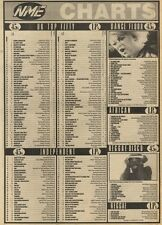 NME CHARTS FOR 5/11/1983 KARMA CHAMELEON BY CULTURE CLUB WAS NO.1