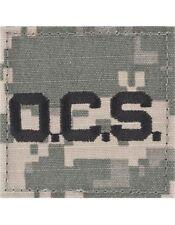 """ACU Sew-on Rank (SVR-130) """"OCS"""" Letters"""