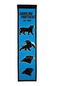 Carolina Panthers Heritage Banner Wool