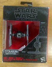 Star Wars Titanium Black Series Die Cast First Order Tie Fighter #13 NISB TFA