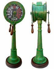 Nautical Brass Telegraph Patina Finish Vintage Marine Telegraph Full Size 37""