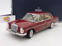 "NOREV 183431 # Mercedes-Benz 280 SE Limousine Bj. 1968 in "" dunkelrot "" 1:18"