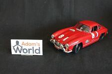 Bburago Mercedes-Benz 300 SL 1:18 dark red #81 TdF automobile (JS)