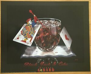 Michael Godard Black Jack And Coke Poster 24 X 30