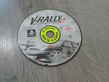 V RALLY 2 PLAYSTATION 1 PS1 PSONE PS2 PS3