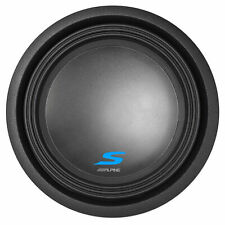 "Alpine S-W12D2 12"" 1800 Watt Dual 2-Ohm Car Audio Subwoofer DVC Sub SW12D2"