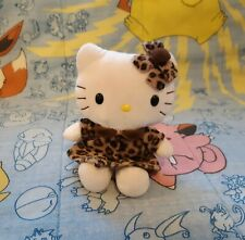 Hello Kitty Plush Leopard Cheetah Print Dress Coat Bow Nakajima 2005 6""