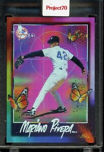 2021 Topps Project 70 | #358 Mariano Rivera by RISK | Rainbow Foil /70