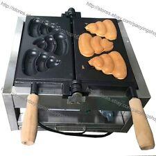 Eléctrico Antiadherente comercial coreano Caca PAN gofres de hierro máquina Baker