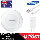 GENUINE Samsung Wireless QI Charger For S7 S6 Edge Fast Charge Type C S8 Plus