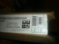 Savin 884983 Yellow Toner Cartridge 5210 C3535 Genuine New Sealed Box