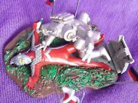 NEW KING JOE & ULTRASEVEN / LIVE SUIT Ver Diorama YUJI KAIDA PVC Figure GODZILLA